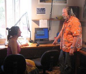 KWMV studio located at the Jones Theater
