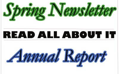 Annual Report / Spring Newsletter