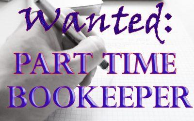 Bookeeper Needed!