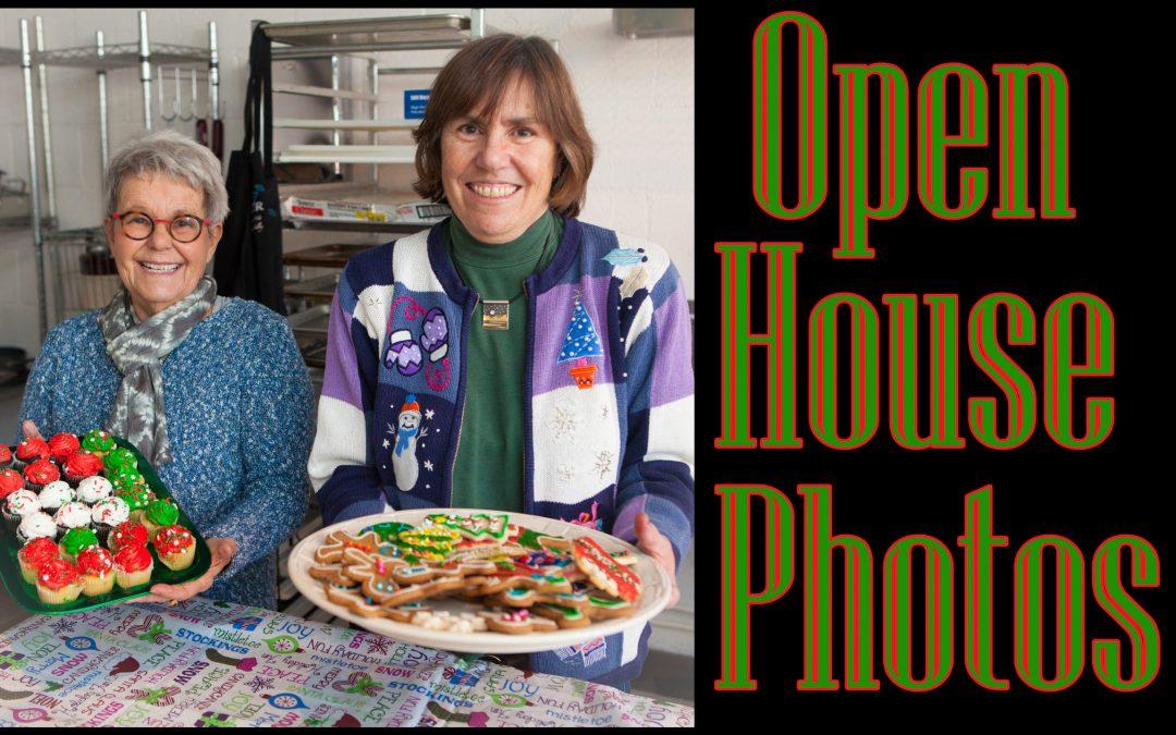 Winter Open House photos!