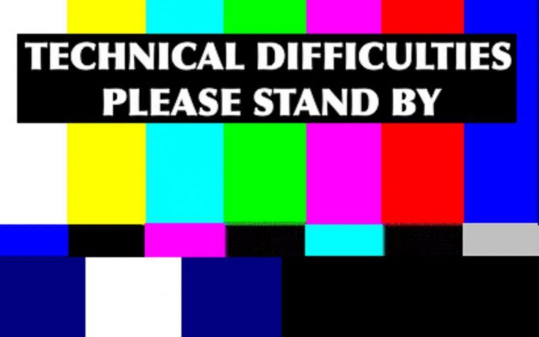 Sat Dec 22 Technical Difficulties