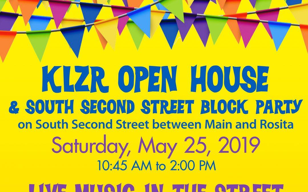 Saturday, May 25 Block Party!