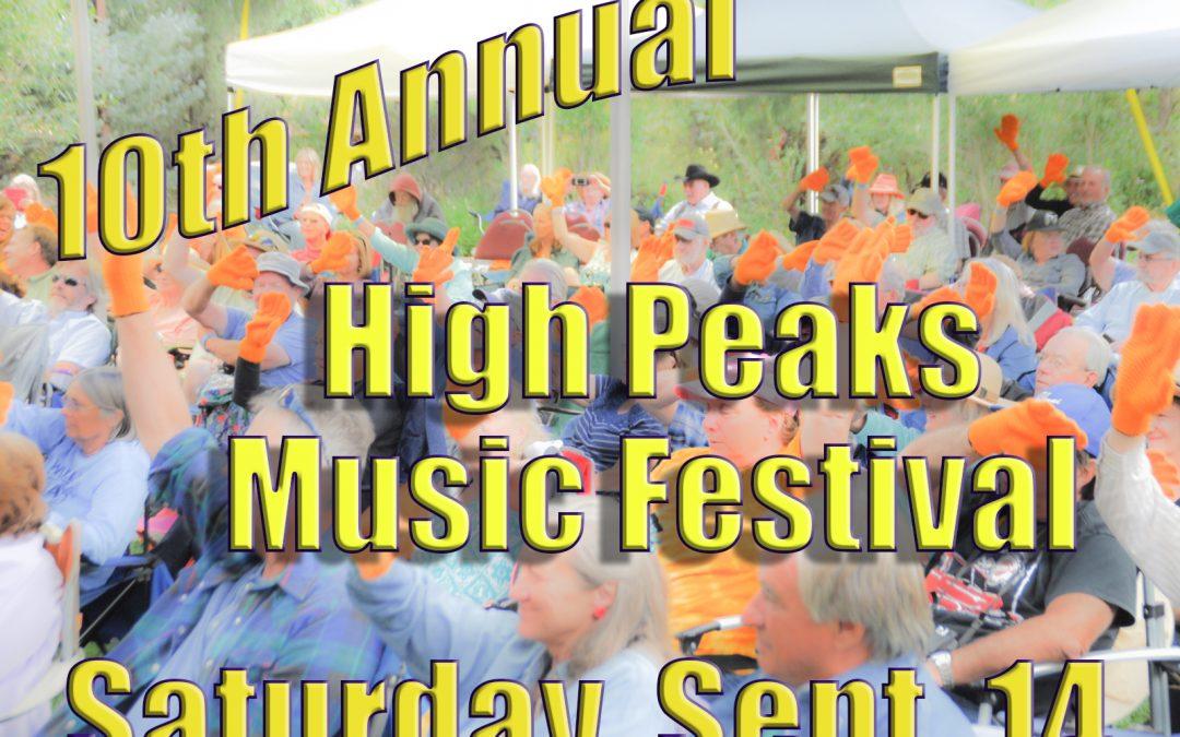 10th Annual High Peaks Music Festival