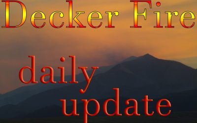 up to date Decker Fire information