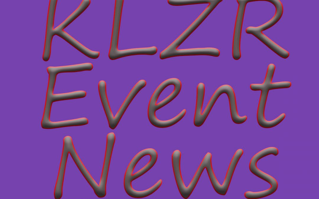 Cancellations, Postponements and more …