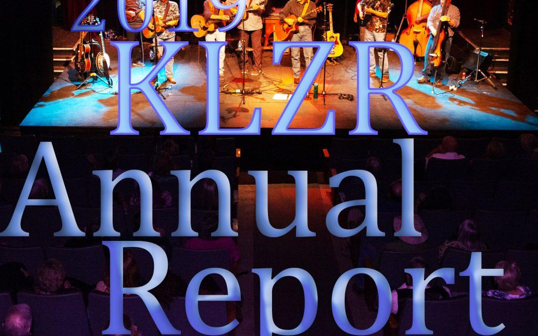 KLZR 2019 Annual Report