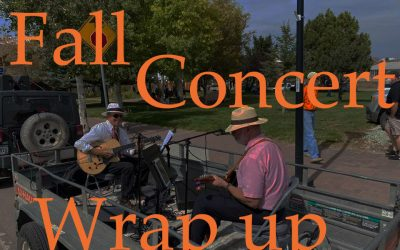 Our Fall Concert Series has concluded